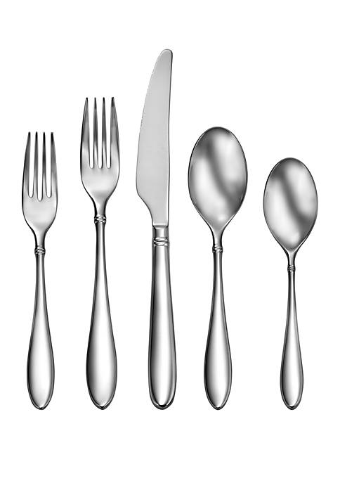 Craft Kitchen Arlo 45-Piece Flatware Set