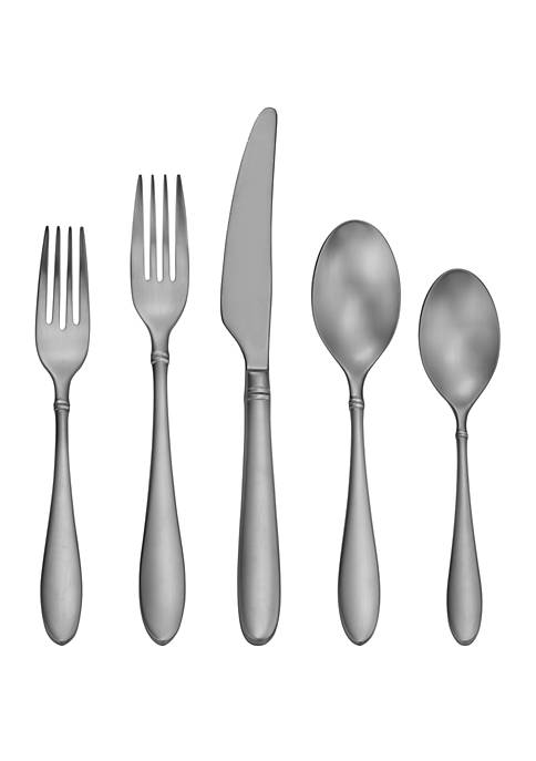 Craft Kitchen Satin Arlo 45 Piece Flatware Set
