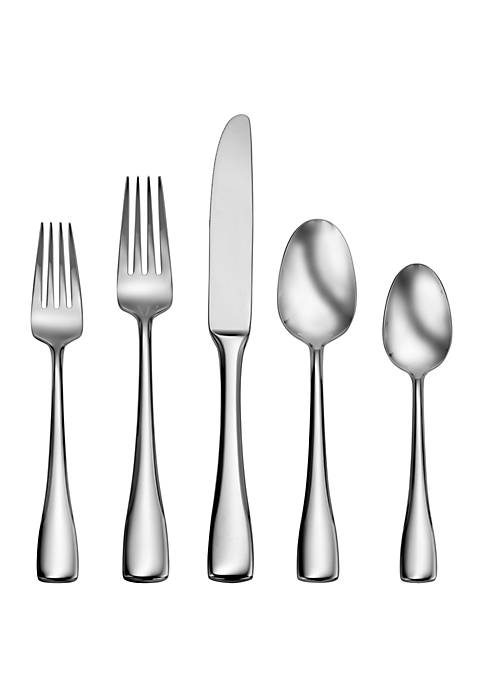 Craft Kitchen Weslyn 45 Piece Flatware Set