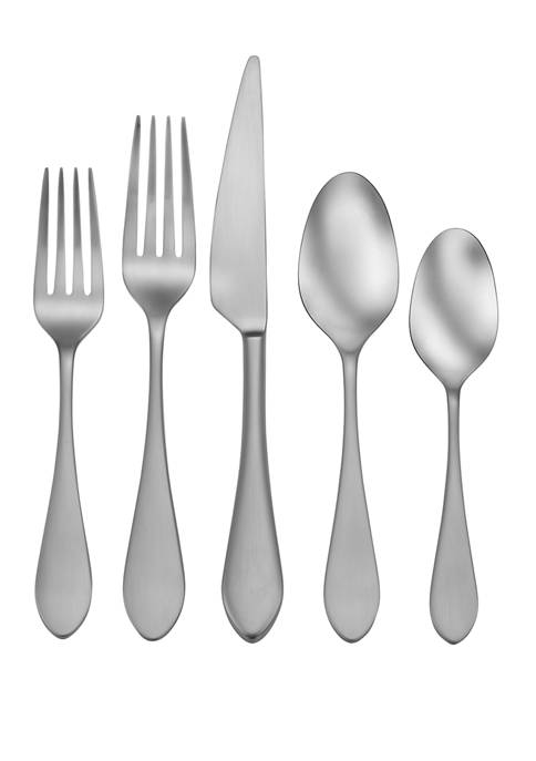 Craft Kitchen Satin Kailey 20 Piece Flatware Set