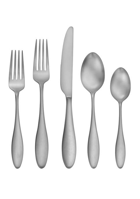 Craft Kitchen Satin Ellie 20 Piece Flatware Set