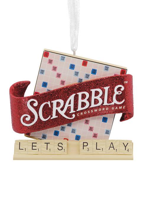 Hallmark Hasbro Scrabble Game Christmas Ornament