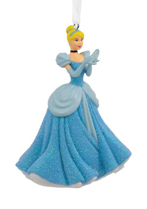 Disney Cinderella Holding Glass Slipper Christmas Ornament