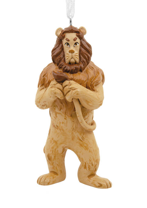The Wizard of Oz Cowardly Lion Christmas Ornament