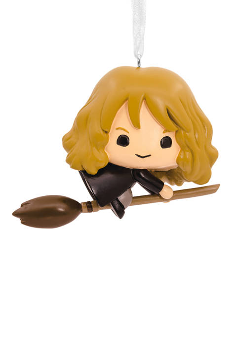 Harry Potter Hermione on Broomstick Christmas Ornament