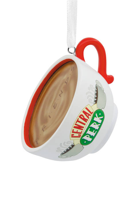 Friends Central Perk Cafe Coffee Cup Christmas Ornament
