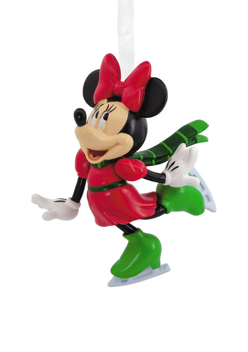 Disney Minnie Mouse Skating Christmas Ornament