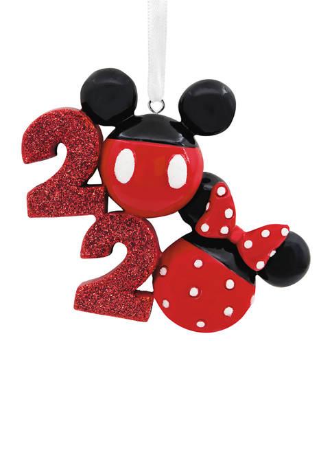 Disney Mickey and Minnie Icons 2020 Christmas Ornament