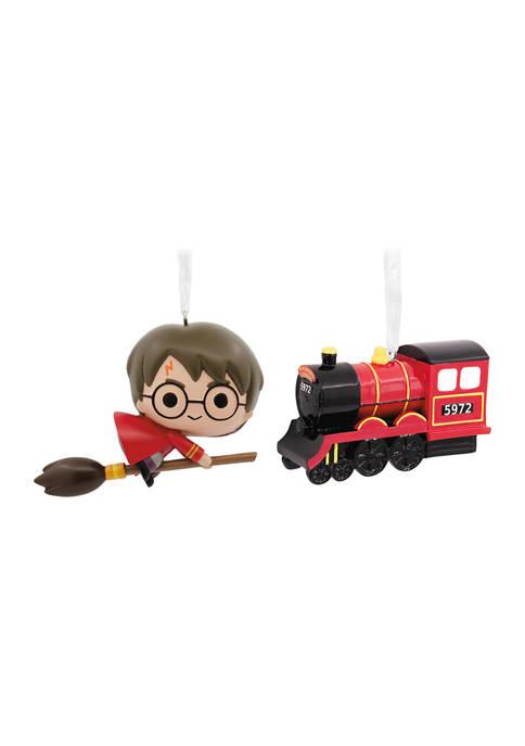 Hallmark Harry Potter Quidditch and Hogwarts Express Christmas