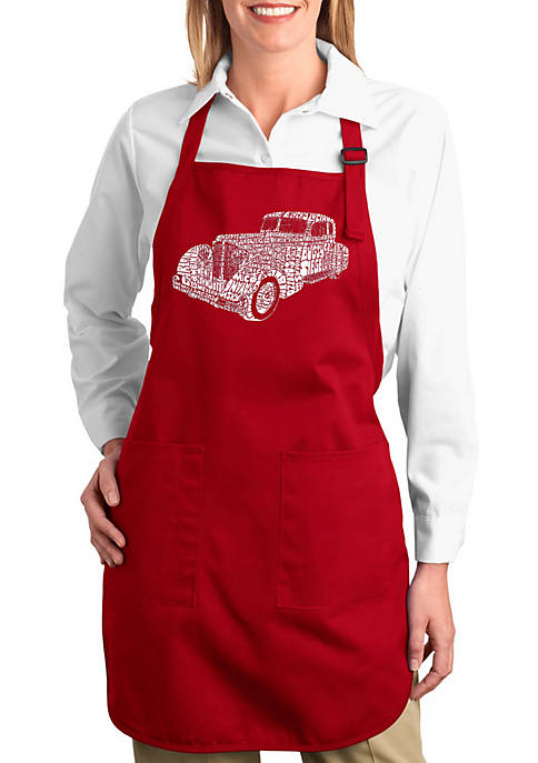 Full Length Word Art Apron - Mobsters