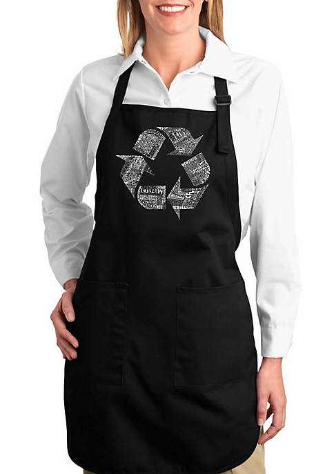 Full Length Word Art Apron - 86 Recyclable Products