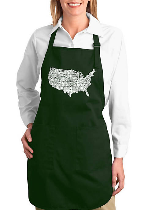 Full Length Word Art Apron - The Star Spangled Banner