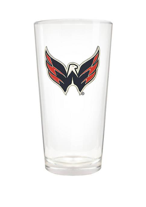 NHL Washington Capitals 22 Ounce Blast Pint Glass