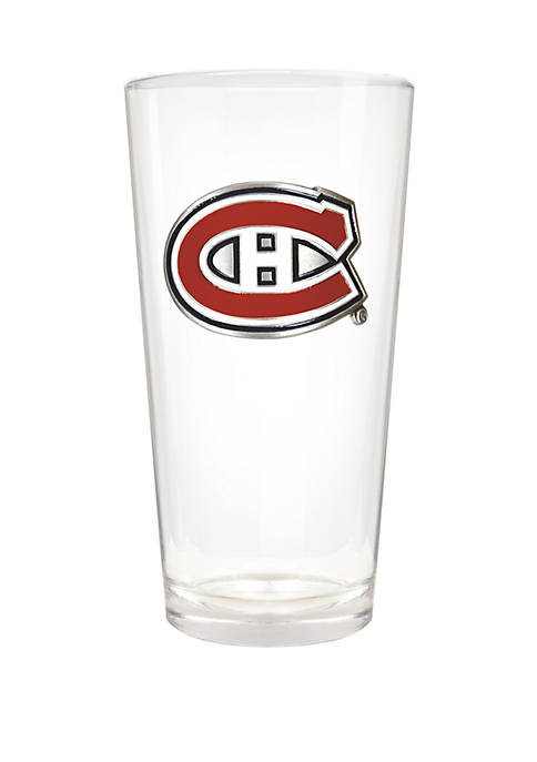 NHL Montreal Canadiens 22 Ounce Blast Pint Glass