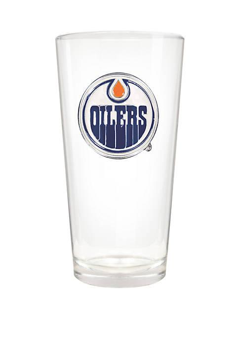 NHL Edmonton Oilers 22 Ounce Blast Pint Glass