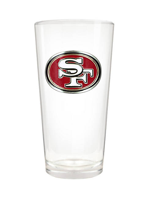 NFL San Francisco 49ers 22 Ounce Blast Pint Glass