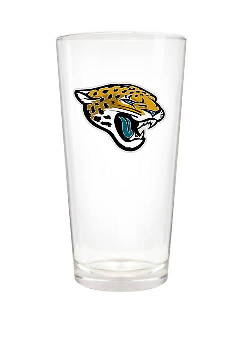 NFL Jacksonville Jaguars 22 Ounce Blast Pint Glass