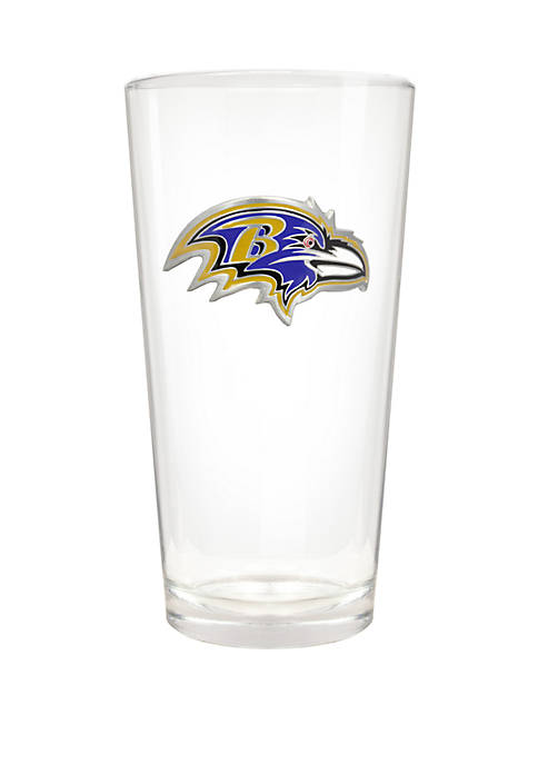 NFL Baltimore Ravens 22 Ounce Blast Pint Glass