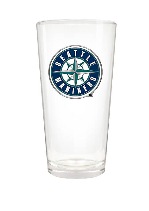 MLB Seattle Mariners 22 Ounce Pint Glass
