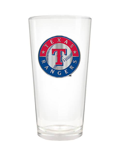 MLB Texas Rangers 22 Ounce Blast Pint Glass