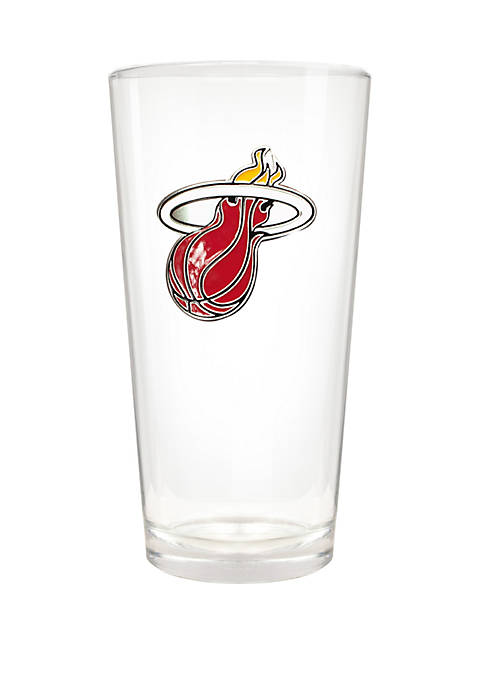 NBA Miami Heat The Blast 22 Ounce Pint Glass