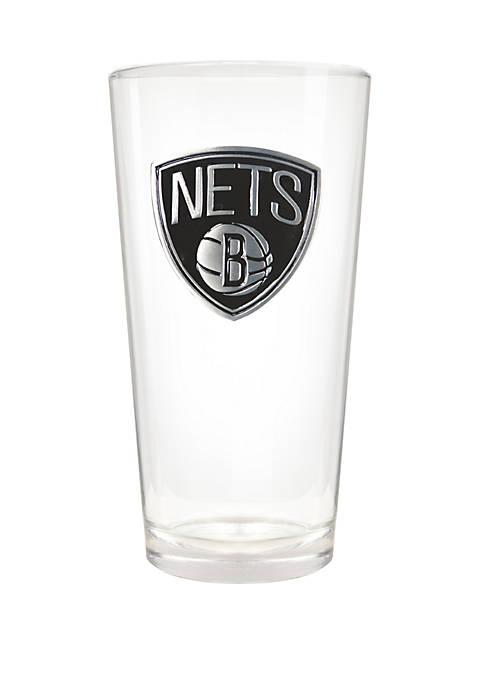 NBA Brooklyn Nets The Blast 22 Ounce Pint Glass