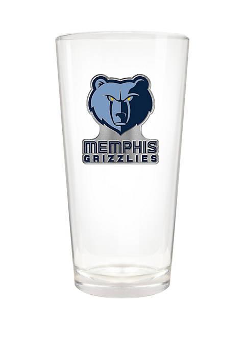 NBA Memphis Grizzlies The Blast 22 Ounce Pint Glass