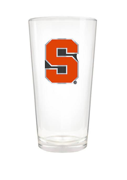 NCAA Syracuse Orange The Blast 22 Ounce Pint Glass