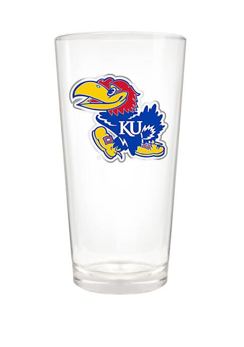 NCAA Kansas Jayhawks 22 Ounce The Blast Pint Glass