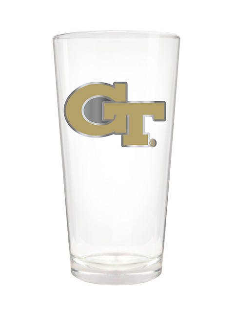NCAA Georgia Tech Yellow Jackets 22 Ounce The Blast Pint Glass