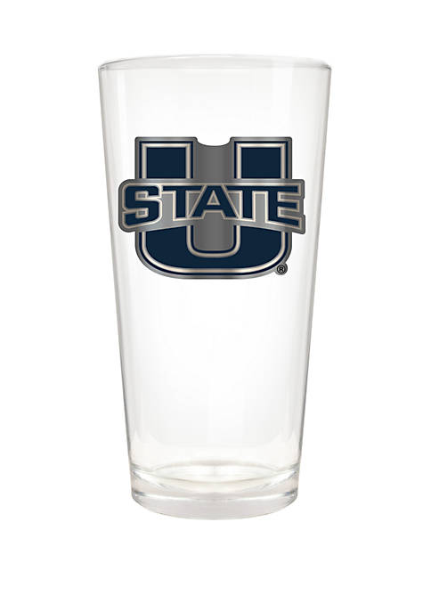 NCAA Utah State Aggies 22 Ounce The Blast Pint Glass