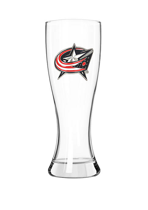 NHL Columbus Blue Jackets 23 Ounce Classic Pilsner Glass