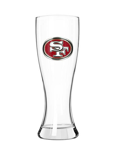 NFL San Francisco 49ers 23 Ounce Classic Pilsner Glass