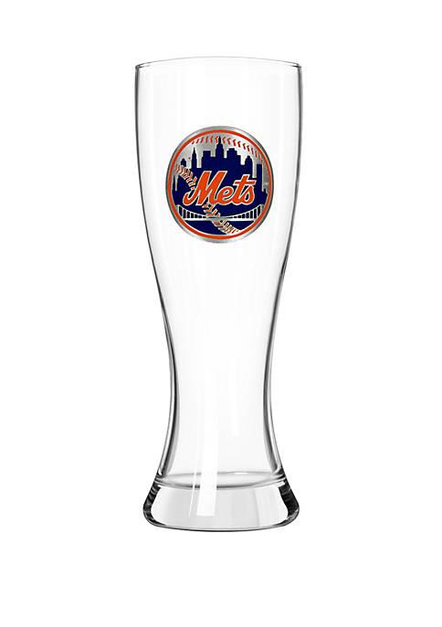 MLB New York Mets 23 Ounce Pilsner Glass