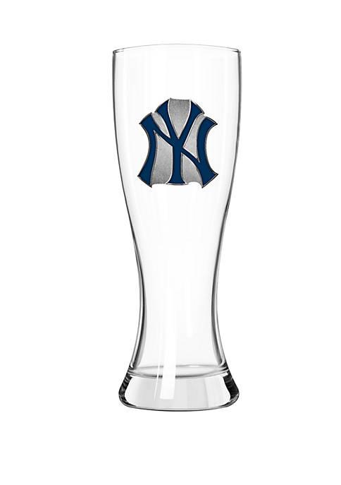 MLB New York Yankees 23 Ounce Classic Pilsner Glass