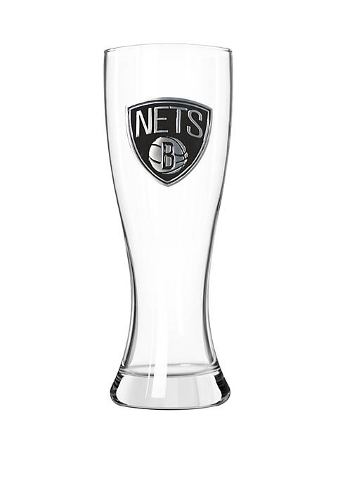 NBA Brooklyn Nets 23 Ounce Classic Pilsner Glass