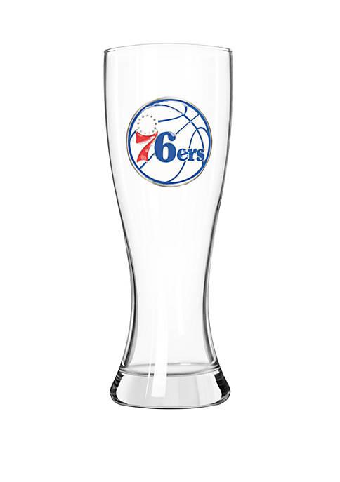 NBA Philadelphia 76ers 23 Ounce Classic Pilsner Glass