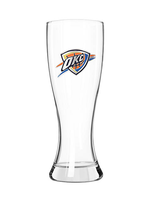 NBA Oklahoma City Thunder 23 Ounce Classic Pilsner Glass