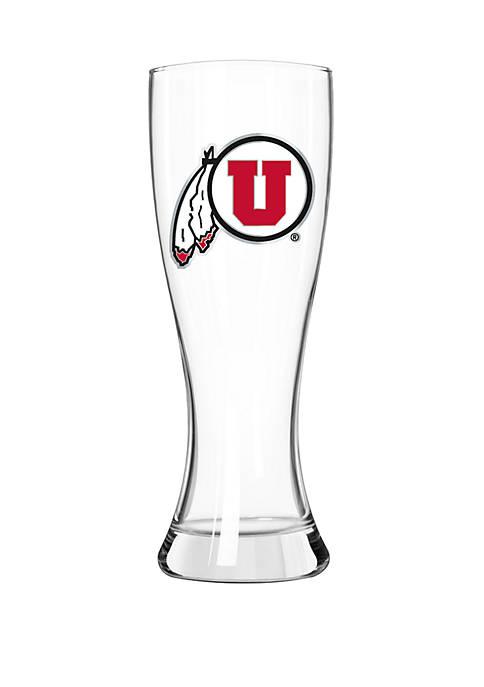 NCAA Utah Utes The Classic 23 Ounce Pilsner Glass