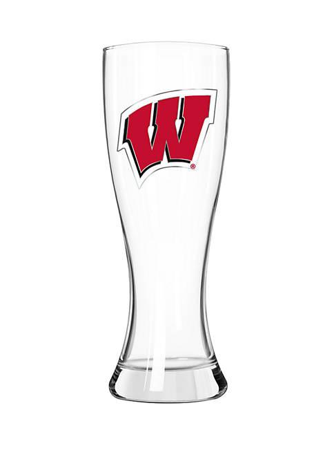 NCAA Wisconsin Badgers Classic 23 Ounce Pilsner Glass