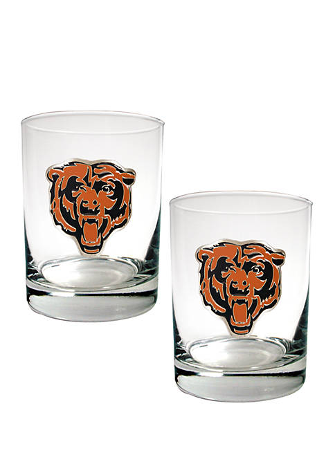 Great American Products NFL Chicago Bears Rocks Glass