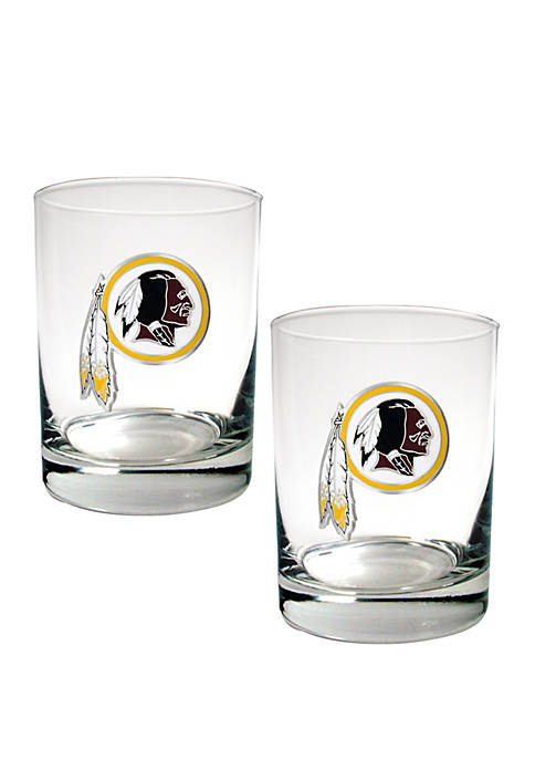 Great American Products NFL Washington Redskins Rocks Glass