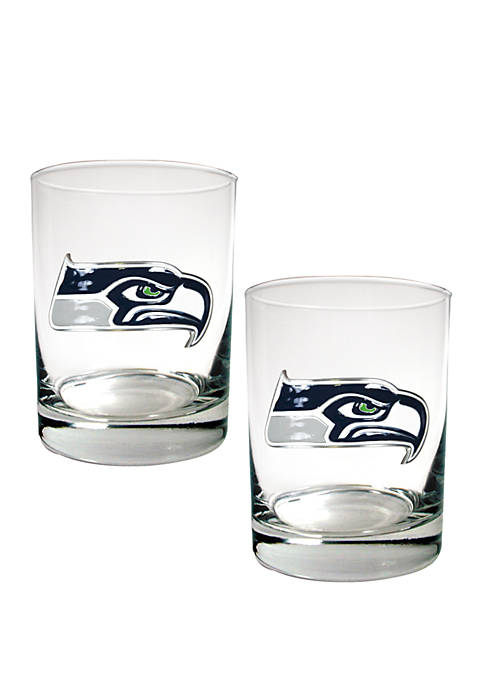 Great American Products NFL Seattle Seahawks Rocks Glass
