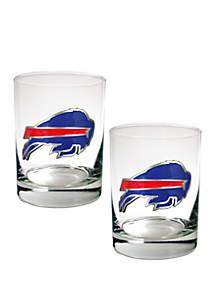 Great American Products NFL Buffalo Bills Rocks Glass Set