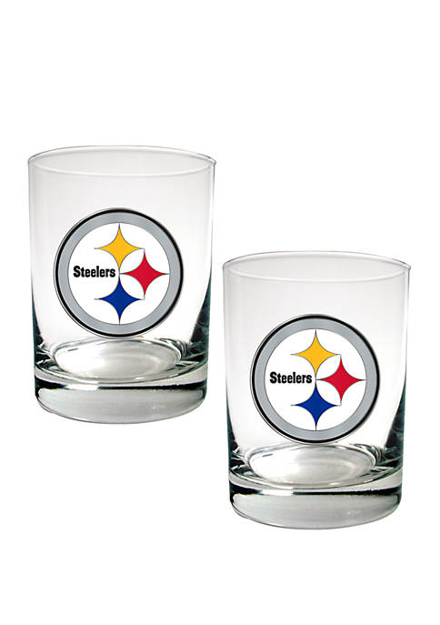 Great American Products NFL Pittsburgh Steelers Rocks Glass
