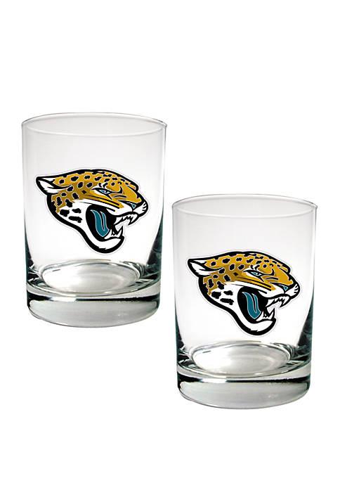 Great American Products NFL Jacksonville Jaguars Rocks Glass