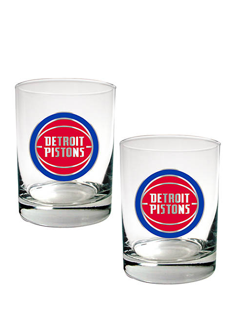Great American Products NBA Detroit Pistons Set of