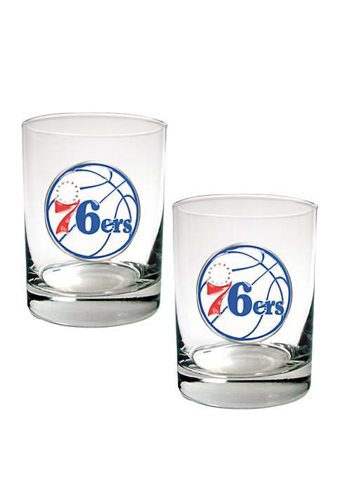 Great American Products NBA Philadelphia 76ers Set of