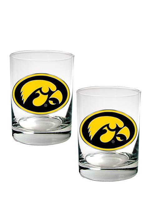 Great American Products NCAA Iowa Hawkeyes Set of