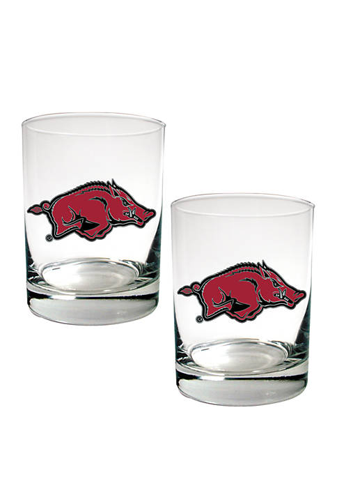 Great American Products NCAA Arkansas Razorbacks Set of